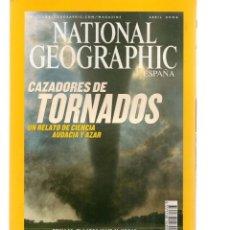 Coleccionismo de National Geographic: NATIONAL GEOGRAPHIC. CAZADORES DE TORNADOS. ABRIL, 2004. (ST/B16). Lote 262896995