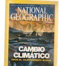 Coleccionismo de National Geographic: NATIONAL GEOGRAPHIC. CAMBIO CLIMÁTICO. SEPTIEMBRE, 2004. (ST/B16). Lote 262897710