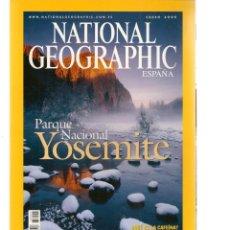 Coleccionismo de National Geographic: NATIONAL GEOGRAPHIC. PARQUE NACIONAL YOSEMITE. ENERO, 2005. (ST/B16). Lote 262904490