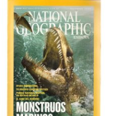 Coleccionismo de National Geographic: NATIONAL GEOGRAPHIC. MONSTRUOS MARINOS. DICIEMBRE, 2005. (ST/B16). Lote 262905460