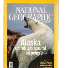 Coleccionismo de National Geographic: NATIONAL GEOGRAPHIC. ALASKA, UN REFUGIO NATURAL EN PELIGRO. JUNIO, 2006. (ST/B16). Lote 262909635