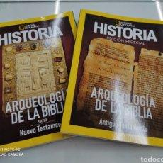 Coleccionismo de National Geographic: ARQUEOLOGÍA DE LA BIBLIA ANTIGUO Y NUEVO TESTAMENTO 2 VOLS ED ESPECIAL HISTORIA NATIONAL GEOGRAPHIC. Lote 267795614