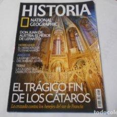 Coleccionismo de National Geographic: HISTORIA NATIONAL GEOGRAPHIC-Nº76-EL TRAGICO FIN DE LOS CATAROS-. Lote 268885874