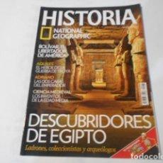 Coleccionismo de National Geographic: HISTORIA NATIONAL GEOGRAPHIC-Nº75-DESCUBRIDORES DE EGIPTO. Lote 268886294