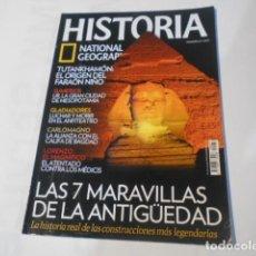 Coleccionismo de National Geographic: HISTORIA NATIONAL GEOGRAPHIC-Nº87--LAS 7 MARAVILLAS DE LA ANTIGUEDAD-. Lote 268888329