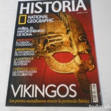 Coleccionismo de National Geographic: HISTORIA NATIONAL GEOGRAPHIC-Nº 89-VIKINGOS,LOS PIRATAS ESCANDINAVOS ATACAN LA PENINSULA IBERICA. Lote 268923594