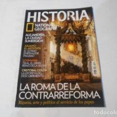 Coleccionismo de National Geographic: HISTORIA NATIONAL GEOGRAPHIC-Nº 80--LA ROMA DE LA CONTRAREFORMA-. Lote 268923924
