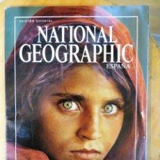 Coleccionismo de National Geographic: REVISTA NATIONAL GEOGRAFHIC ESPAÑA LAS 100 MEJORES FOTOGRAFIAS. Lote 269965308