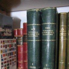 Coleccionismo de National Geographic: NATIONAL GEOGRAPHIC - INGLES - AÑO 1960 AÑO COMPLETO ENCUADERNADOS. Lote 270231318