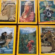 Coleccionismo de National Geographic: NATIONAL GEOGRAPHIC (1968,1969,1970, 1971 Y 1973). Lote 270232228