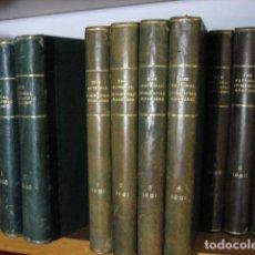 Coleccionismo de National Geographic: NATIONAL GEOGRAPHIC - INGLES - AÑO 1961 AÑO COMPLETO ENCUADERNADOS. Lote 270233698