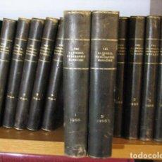 Coleccionismo de National Geographic: NATIONAL GEOGRAPHIC - INGLES - AÑO 1965 AÑO COMPLETO ENCUADERNADOS. Lote 270234143
