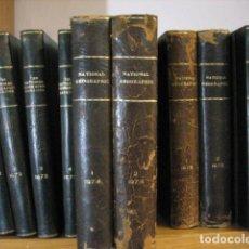 Coleccionismo de National Geographic: NATIONAL GEOGRAPHIC - INGLES - AÑO 1974 AÑO COMPLETO ENCUADERNADOS EN PIEL. Lote 270240763