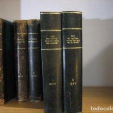 Coleccionismo de National Geographic: NATIONAL GEOGRAPHIC - INGLES - AÑO 1977 AÑO COMPLETO ENCUADERNADOS EN PIEL. Lote 270240838