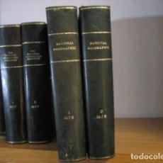 Coleccionismo de National Geographic: NATIONAL GEOGRAPHIC - INGLES - AÑO 1978 AÑO COMPLETO ENCUADERNADOS EN PIEL. Lote 270240883