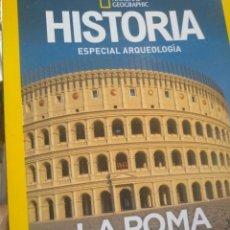 Coleccionismo de National Geographic: ROMA IMPERIAL RECONSTRUIDA EN 3 D ESPECIAL ARQUEOLOGÍA DE NATIONAL GEOGRAPHIC. Lote 270576073