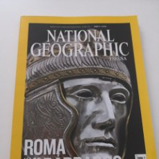 Coleccionismo de National Geographic: REVISTA NATIONAL GEOGRAPHIC ESPAÑA - ABRIL 2008 VOL. 22 N° 4 - ROMA LOS BÁRBAROS HISPANIA ROTTERDAM. Lote 270594353