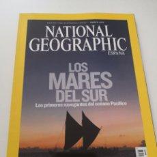 Coleccionismo de National Geographic: REVISTA NATIONAL GEOGRAPHIC ESPAÑA - MARZO 2008 VOL. 22 N° 3 - LOS MARES DEL SUR - OCÉANO PACÍFICO. Lote 270594933