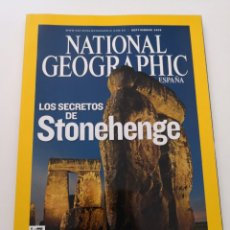 Coleccionismo de National Geographic: REVISTA NATIONAL GEOGRAPHIC ESPAÑA - SEPTIEMBRE 2008 VOL. 23 N° 3 STONEHENGE SAMBURU BOLIVIA SAHARA. Lote 271150603