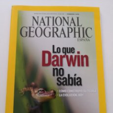 Coleccionismo de National Geographic: REVISTA NATIONAL GEOGRAPHIC ESPAÑA - FEBRERO 2009 VOL. 24 N° 2 - LO QUE DARWIN NO SABÍA SIBERIA. Lote 271155553