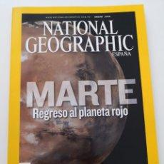 Coleccionismo de National Geographic: REVISTA NATIONAL GEOGRAPHIC ESPAÑA - ENERO 2009 VOL. 24 N° 1 - MARTE REGRESO AL PLANETA ROJO - ORO. Lote 271156538