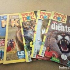Coleccionismo de National Geographic: LOTE REVISTAS INFANTILES NATURALEZA. Lote 272260048