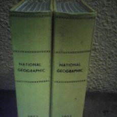 Coleccionismo de National Geographic: REVISTA NATIONAL GEOGRAPHIC AÑO COMPLETO EN INGLES 1953. Lote 274250898