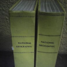 Coleccionismo de National Geographic: REVISTA NATIONAL GEOGRAPHIC AÑO COMPLETO EN INGLES 1954. Lote 274251113