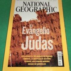 Coleccionismo de National Geographic: NATIONAL GEOGRAPHIC MAYO-2006 EL EVANGELIO DE JUDAS (COMO NUEVA DE COLECCIONISTA). Lote 274451113