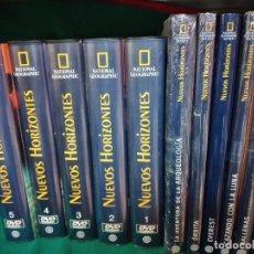 Coleccionismo de National Geographic: NUEVOS HORIZONTES. NATIONAL GEOGRAPHIC. 6 TOMOS + 20 DVD EN 5 TOMOS.. EN PERFECTO ESTADO.. Lote 276454333