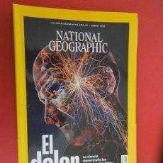 Coleccionismo de National Geographic: NATIONAL GEOGRAPHIC ESPAÑA , ENERO 2020 - EL DOLOR , LA CIENCIA DESENTRAÑA LOS MISTERIOS. Lote 276934828