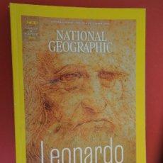 Coleccionismo de National Geographic: NATIONAL GEOGRAPHIC ESPAÑA , MAYO -2019- LEONARDO DA VINCI UN GENIO AVANZADO A SU TIEMPO. Lote 276935383