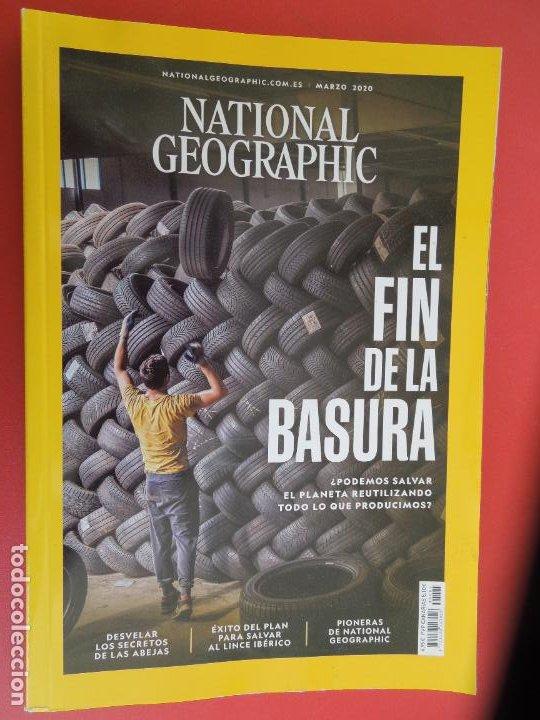 NATIONAL GEOGRAPHIC ESPAÑA , MARZO 2020- EL FIN DE LA BASURA ¿ PODEMOS REUTILIZAR TODO? (Coleccionismo - Revistas y Periódicos Modernos (a partir de 1.940) - Revista National Geographic)