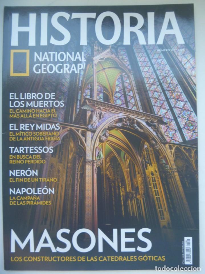 REVISTA HISTORIA DE NATIONAL GEOGRAPHIC, Nº 102 : MASONES, TARTESSOS , NERON, NAPOLEON, ETC (Coleccionismo - Revistas y Periódicos Modernos (a partir de 1.940) - Revista National Geographic)
