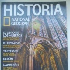 Coleccionismo de National Geographic: REVISTA HISTORIA DE NATIONAL GEOGRAPHIC, Nº 102 : MASONES, TARTESSOS , NERON, NAPOLEON, ETC. Lote 277026433