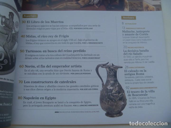 Coleccionismo de National Geographic: REVISTA HISTORIA DE NATIONAL GEOGRAPHIC, Nº 102 : MASONES, TARTESSOS , NERON, NAPOLEON, ETC - Foto 2 - 277026433