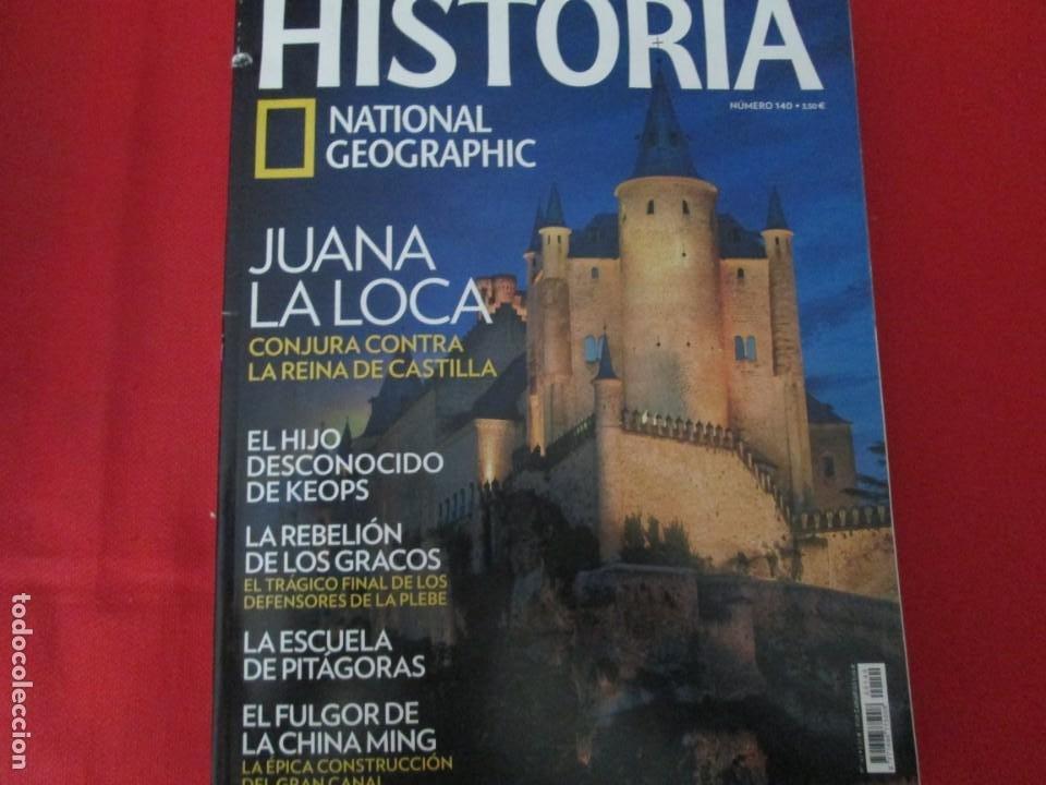 JUANA LA LOCA (Coleccionismo - Revistas y Periódicos Modernos (a partir de 1.940) - Revista National Geographic)