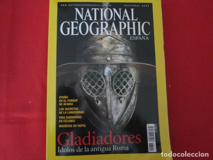GLADIADORES (Coleccionismo - Revistas y Periódicos Modernos (a partir de 1.940) - Revista National Geographic)