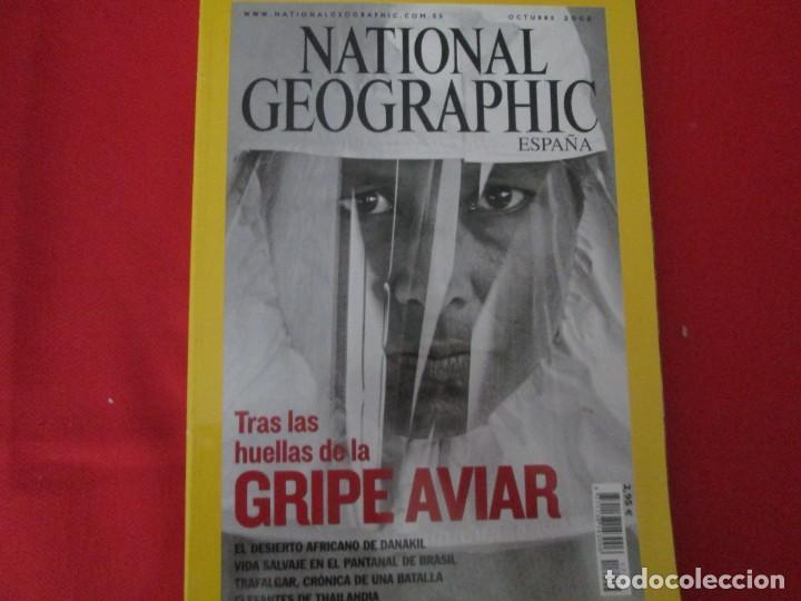 GRIPE AVIAR (Coleccionismo - Revistas y Periódicos Modernos (a partir de 1.940) - Revista National Geographic)