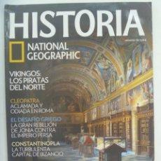 Coleccionismo de National Geographic: REVISTA HISTORIA DE NATIONAL GEOGRAPHIC, Nº 78: CARLOS V, VIKINGOS , CONSTANTINOPLA, CLEOPATRA, ETC. Lote 277212363