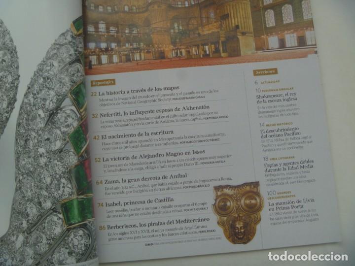 Coleccionismo de National Geographic: REVISTA HISTORIA DE NATIONAL GEOGRAPHIC, Nº 109: ISABEL PRINCESA DE CASTILLA, BATALLA ZAMA, ETC - Foto 2 - 277435373