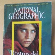 Coleccionismo de National Geographic: NATIONAL GEOGRAPHIC ROSTROS DEL MUNDO LAS MEJORES FOTOGRAFÍAS DE RETRATOS 2006 36 X 26 CMS. Lote 277505268