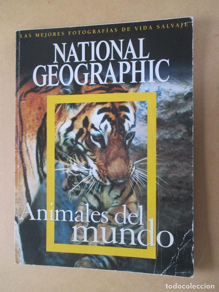 NATIONAL GEOGRAPHIC ANIMALES DEL MUNDO LAS MEJORES FOTOGRAFÍAS DE VIDA SALVAJE 2006 36 X 26 CMS (Coleccionismo - Revistas y Periódicos Modernos (a partir de 1.940) - Revista National Geographic)