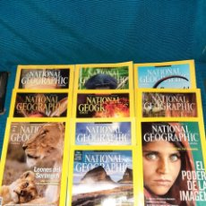 Coleccionismo de National Geographic: LOTE 10 REVISTAS NATIONAL GEOGRAFIC 2013. Lote 279352843