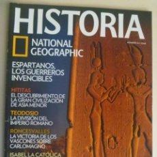 Coleccionismo de National Geographic: REVISTA HISTORIA DE NATIONAL GEOGRAPHIC, Nº 94: CLEOPATRA, RONCESVALLES, HITITAS, ETC. Lote 280947238