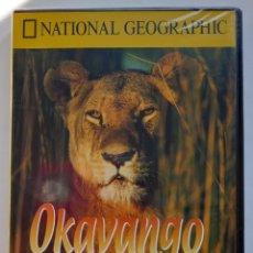 Coleccionismo de National Geographic: NATIONAL GEOGRAFHIC - DVD - OKAVANGO EL OASIS AFRICANO - DOCUMENTALES RBA. Lote 287836043