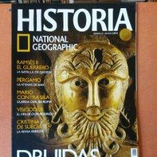 Coleccionismo de National Geographic: HISTORIA. DRUIDAS. EL PODER DE LOS SACERDOTES CELTAS. NATIONAL GEOGRAPHIC. Lote 287850433