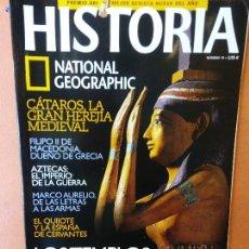 Coleccionismo de National Geographic: HISTORIA. NATIONAL GEOGRAPHIC. LOS TEMPLOS DEL NILO. EL EGIPTO DE LOS FARAONES GRIEGOS.. Lote 287851748