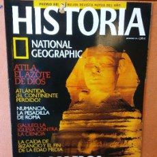 Coleccionismo de National Geographic: HISTORIA. NATIONAL GEOGRAPHIC. LOS OBREROS DEL FARAÓN. LOS CONSTRUCTORES DE PIRAMIDES.. Lote 287851943