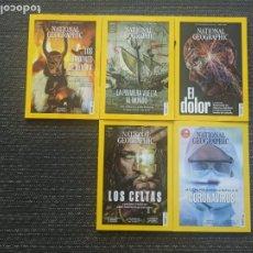 Coleccionismo de National Geographic: LOTE DE 5 REVISTAS NATIONAL GEOGRAPHIC. Lote 287860798